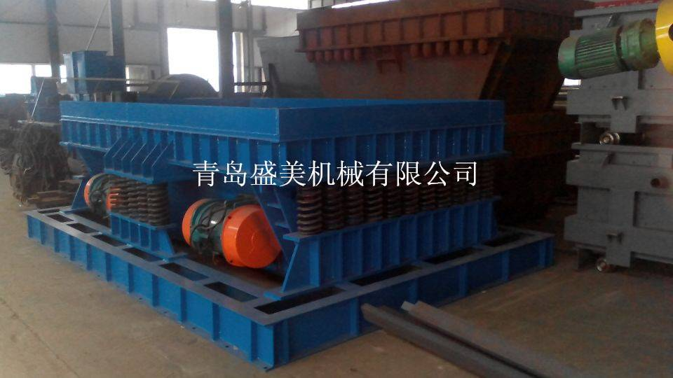 China high quality resin-bonded sand casting Inertia vibratory shakeout system