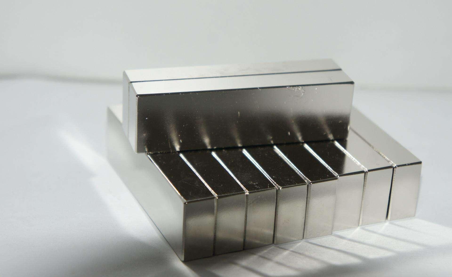 Magnetics large rare earth n52 neodymium magnet powerful Block NdFeB