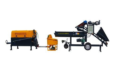 Foam mortar dual-use machine,dual-use mortar foaming pumping machine