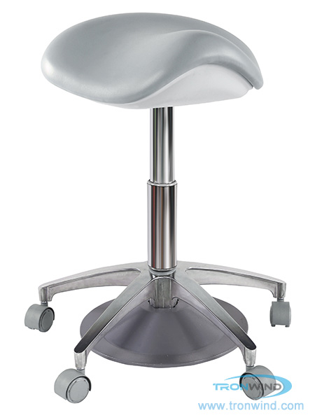 Foot Control High Saddle Chair TS02, Foot Control Doctor Stool, Foot Control Dental Stool