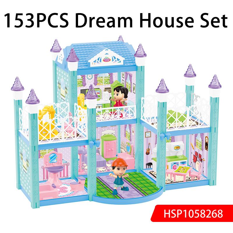 153PCS Dream House Set