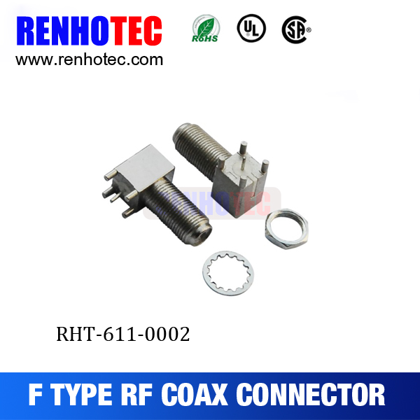F male and female connector