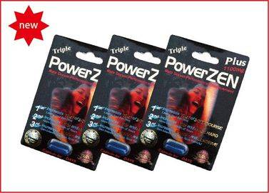 100% Safe and Natural Herbal Powerzen Male Enhancement For Men With Black Version, 1100mg