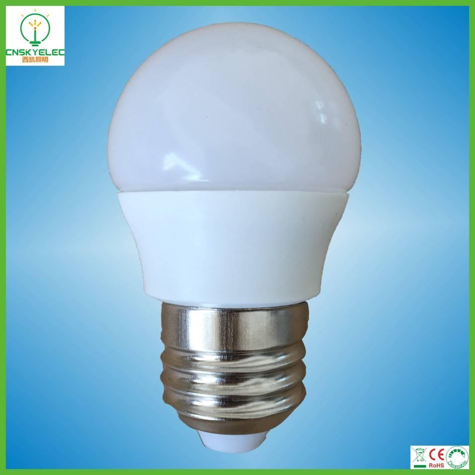 led globe bulb 3w