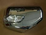 DOOR MIRROR COVER WITH LED -- Mitsubishi Triton , L 200 (Clip Lock)