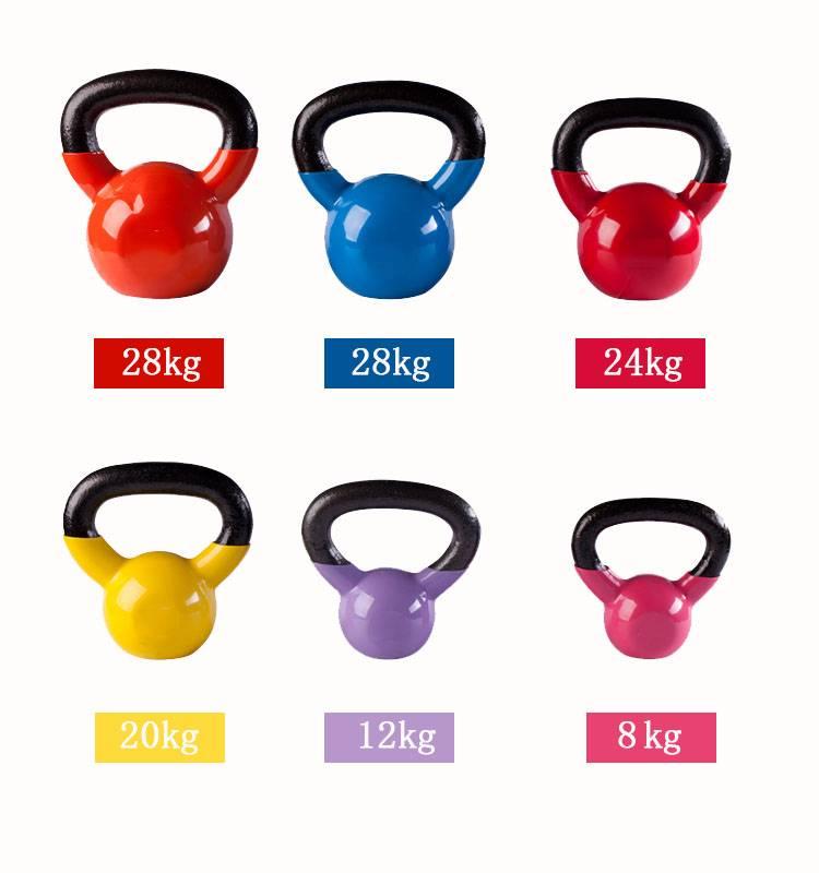 Spray Paint Kettlebell/Gym fitness/Vinyl Kettlebell