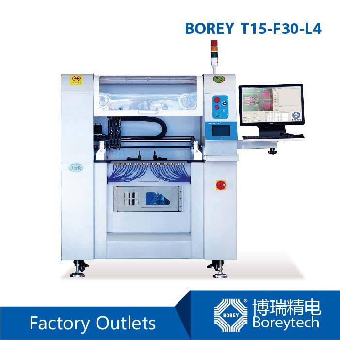 BOREY T15-F30-L4 SMT Pick and Place Machine with Pick and Place System
