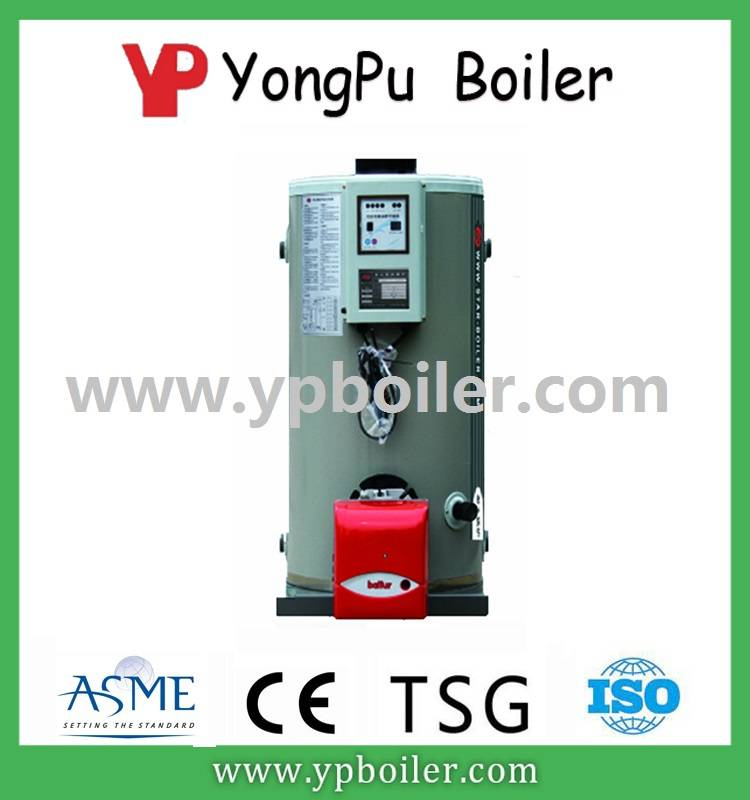 Vertical ordinary pressure hot water boiler