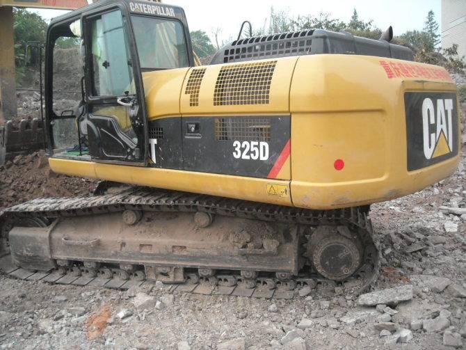 caterpillar 325D excavator in nice work condition/cat excavator