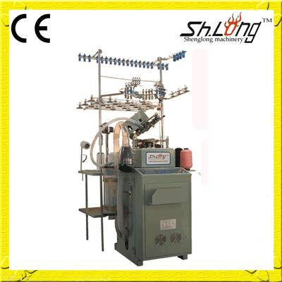 Shenglong 168Ncomputerized socks knitting machines(plain)
