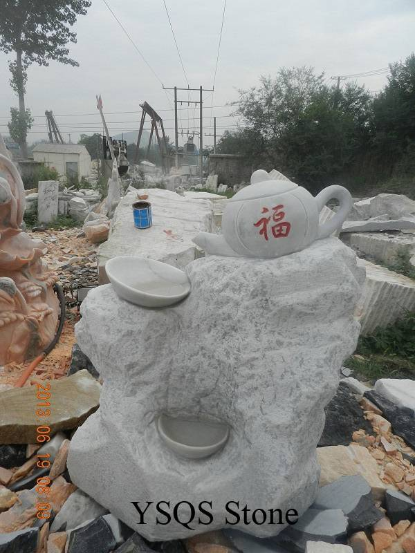 White Marble Garden Statue, YSQS Stone