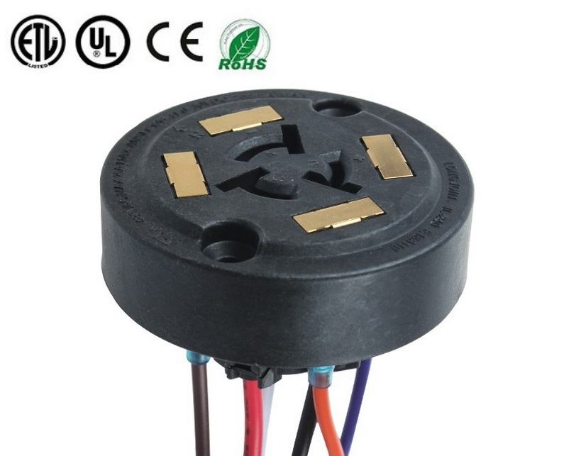 ANSI C136.41 7 Pin 4 Pad Twist-Lock Receptacle for Twist-Lock Photocontrol for LED Lighting