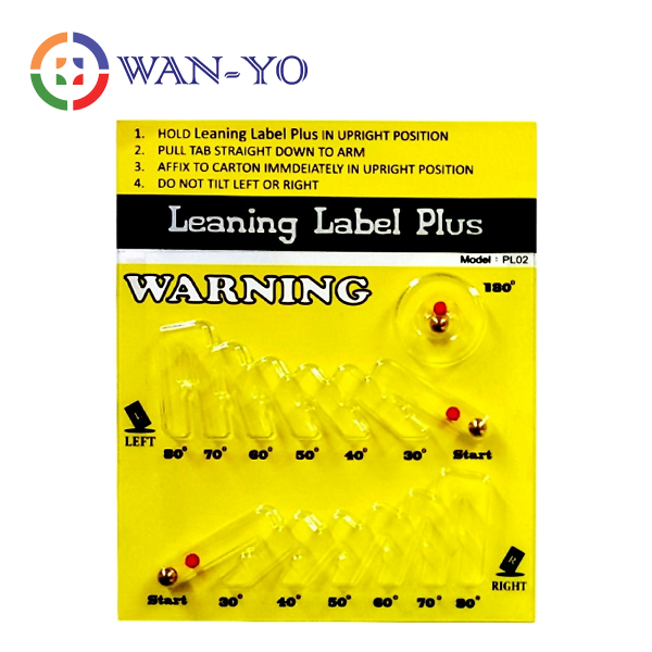Leaning Label Plus Tip and Tell Indicator Shipping Labels