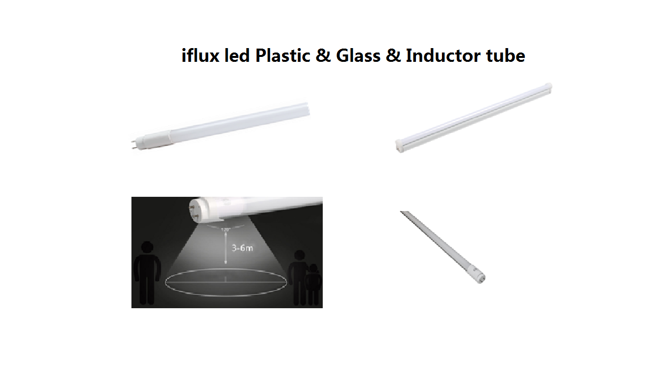 iflux led Plastic & Glass & Inductor tube