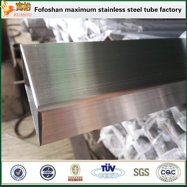 decorative stainless steel rectangular pipe/tube