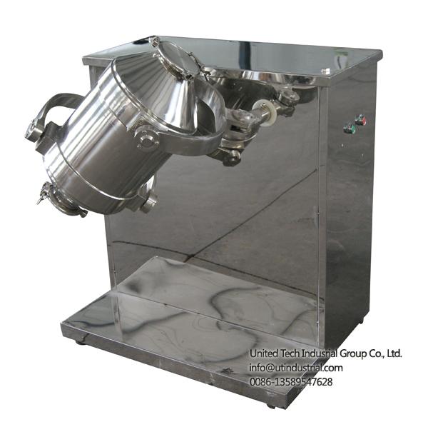 food 3D mixer, stainless steel mixer