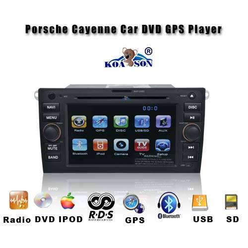 Porshe Cayenne 2006-2009 Car DVD player with Touch Screen
