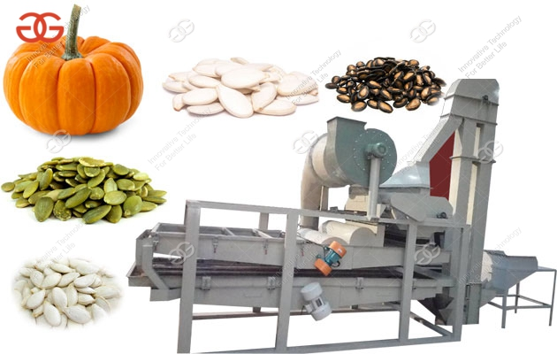 Pumpkin Seeds Hulling Machine For Sale