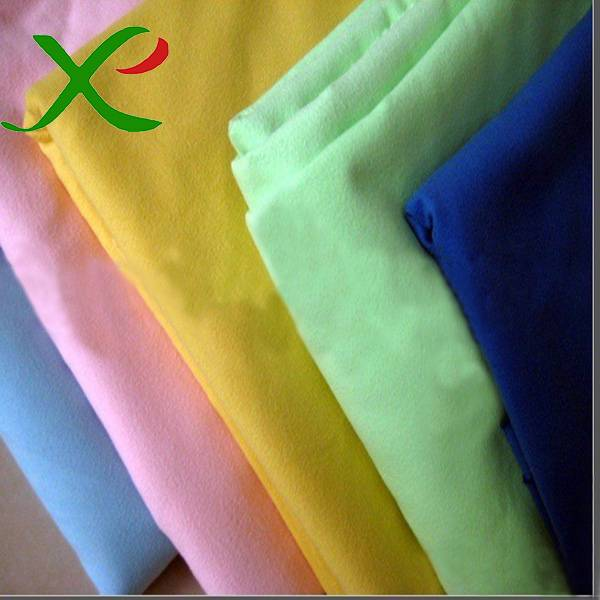 Microfiber Polyester Nylon Suede Fabric