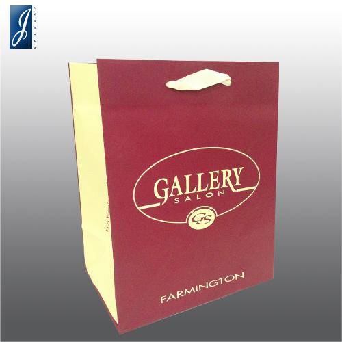 Customized small paper bag for GALLERY