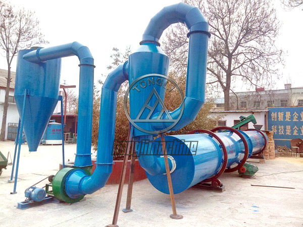 High effiency Charcoal Rotary Dryer for sale