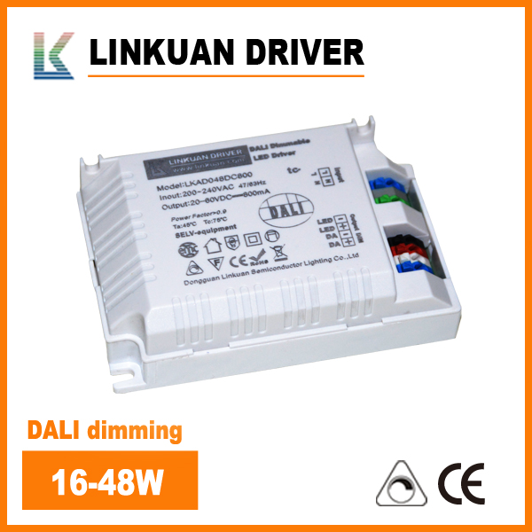 20-40W DALI dimming LED driver LKAD048D