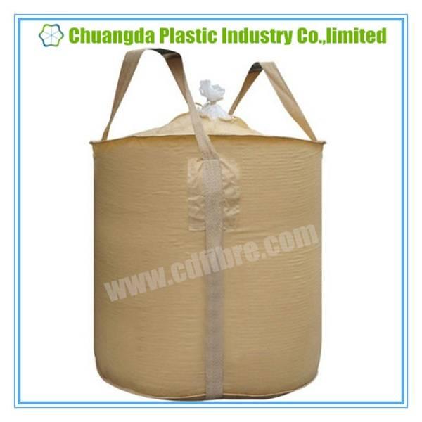 2-Loops FIBC Big Bulk Woven Bag with Top Spout