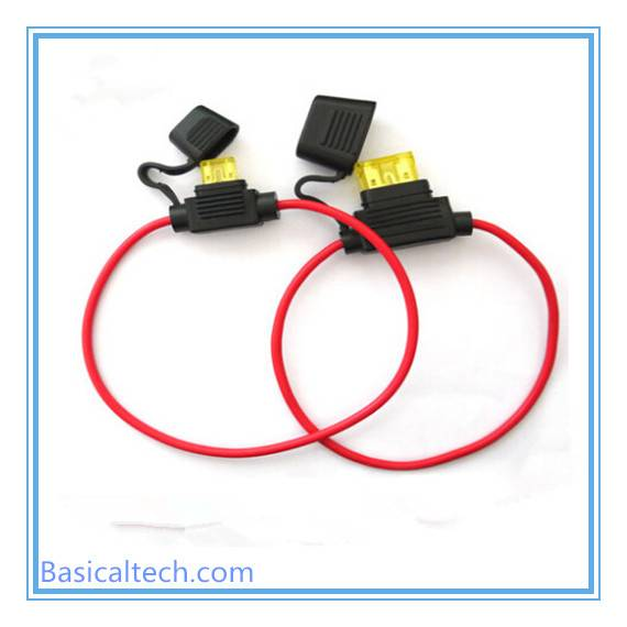 Automotive Anl Inline Waterproof Fuse Holder with Wire