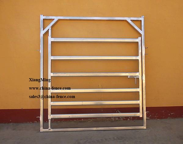 Hot Dipped Galvanized Cattle Panel Gate