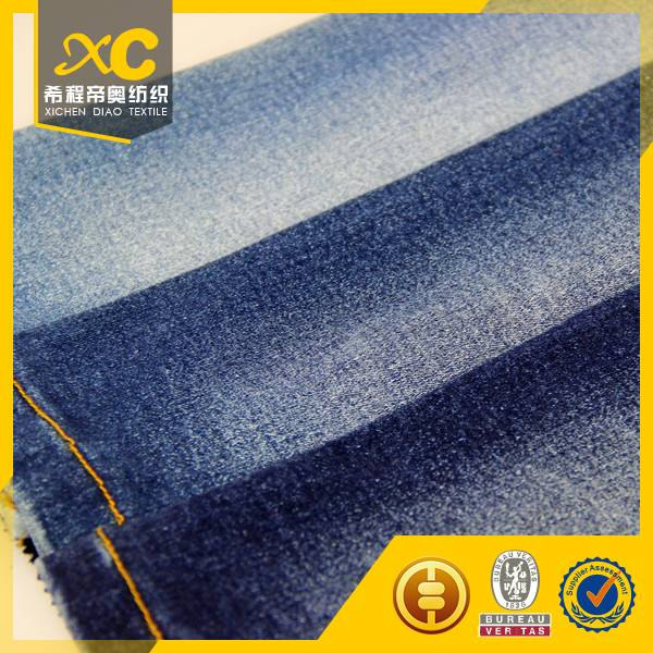 98%cotton 2% spandex denim fabric from China