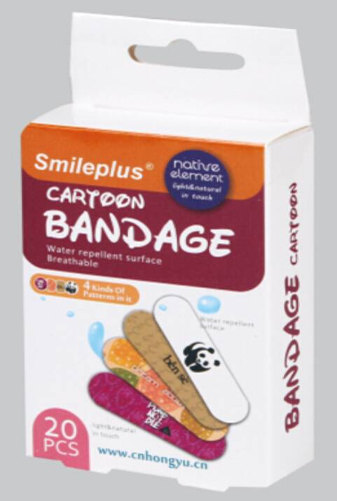 Cartoon PE bandage