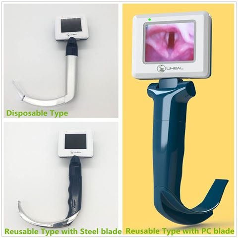 anesthesia video laryngoscope for airway management
