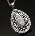 High quality jewelry 2016 new fashion diamond pendant