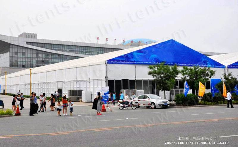 China 40x50m car show exhibition tent supplier