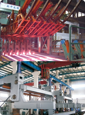 Square Billet/Square Bloom/Rectangular continuous casting machine for steel makeing