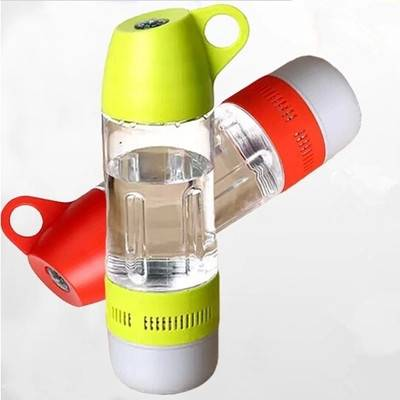 Water bottle outdoor sports stereo portable wireless bluetooth speakers
