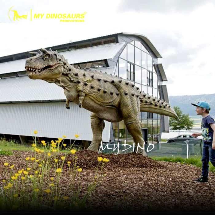 Dinosaur Theme Adventure Park Full Size Carnotaurus Model