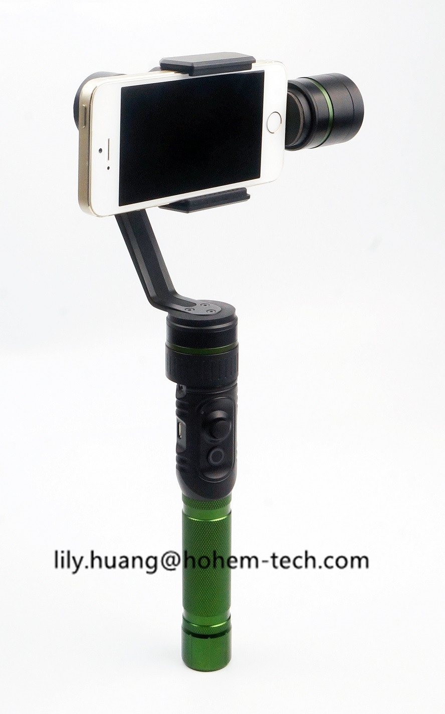 3 axis motor portable handheld steady smartphone stabilizer