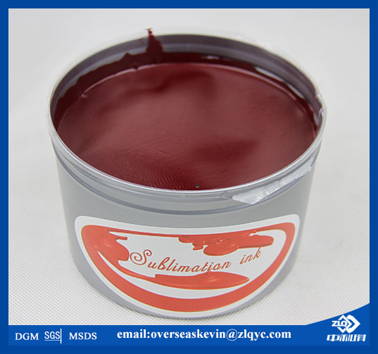 Good quality offset sublimation printing ink with MSDS