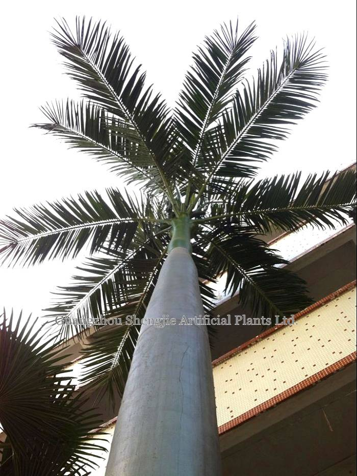 high simulation artificial king coconut tree(for indoor&outdoor decoration)