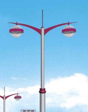 IP65 CE & RoHS 80W LED with pole Street Light