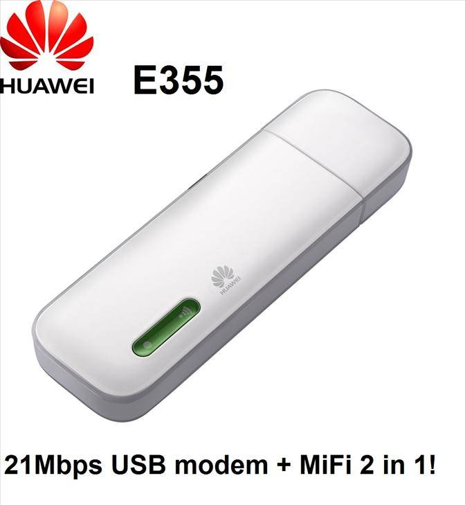 HUAWEI E355 Mobile Broadband Wireless WIFI Hotspot Network Card Modem Router