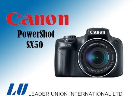 Canon PowerShot SX50 HS Digital Compact Camera