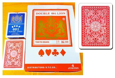 DOUBLE LION Premium Playing Card 601