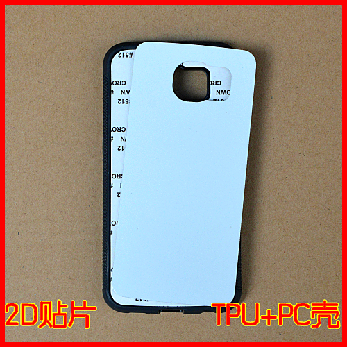 For Samsung Galaxy s6 TPU Rubber Case Personalized 2D Sublimation Printing Custom Phone case