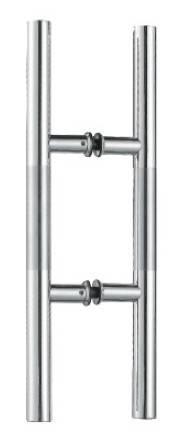 stainless steel long pull ladder door handles