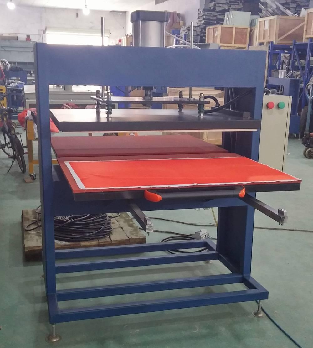 80x100CM Umbrella Raincoat Pneumatic Dual Heat Rosin Press Transfer Print Machines in Thailand PE8