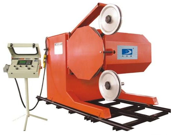 Wire saw machine