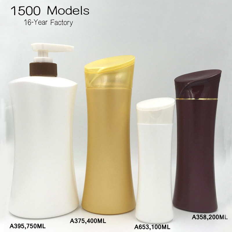 Plastic Shampoo Bottle Packaging