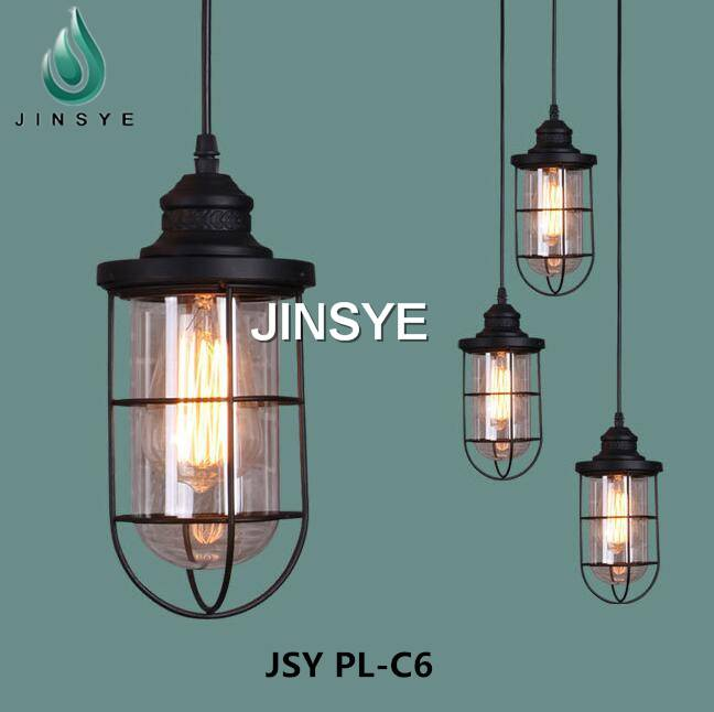 Simple retro industrial pendant light jinsye